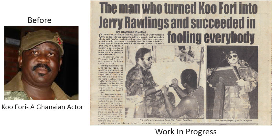 transforming koo fori as JJ Rawlings