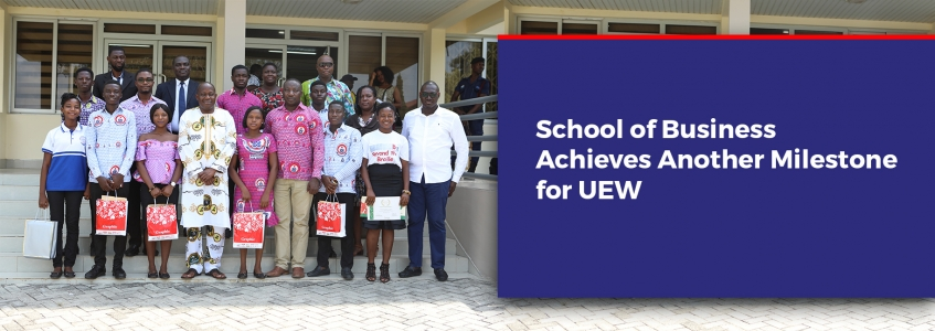 School of Business Achieves Another Milestone for UEW