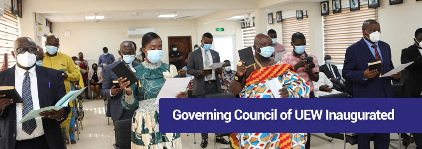 Governing Council of UEW Inaugurated