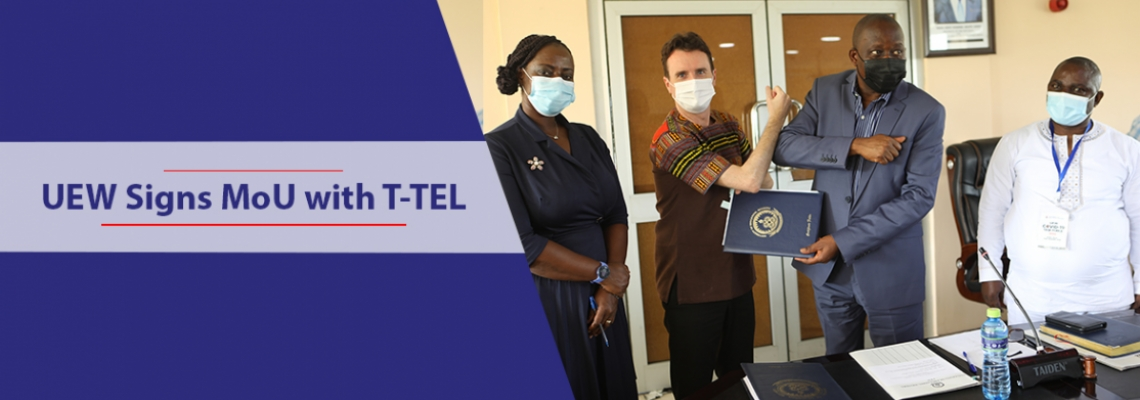 UEW Signs MoU with T-TEL