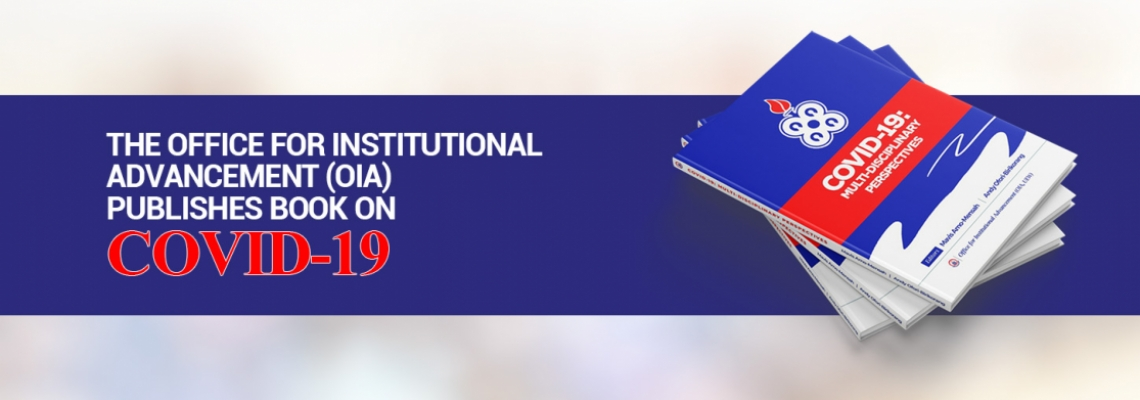 The Office for Institutional Advancement (OIA) Publishes Book on COVID-19